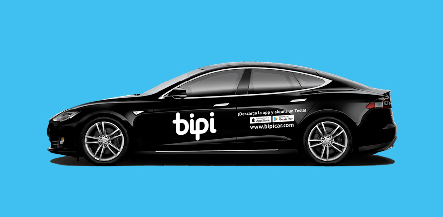Bipi by llollo la app que revoluciona el rent a car