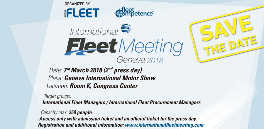 International Fleet Meeting 2018 en Ginebra