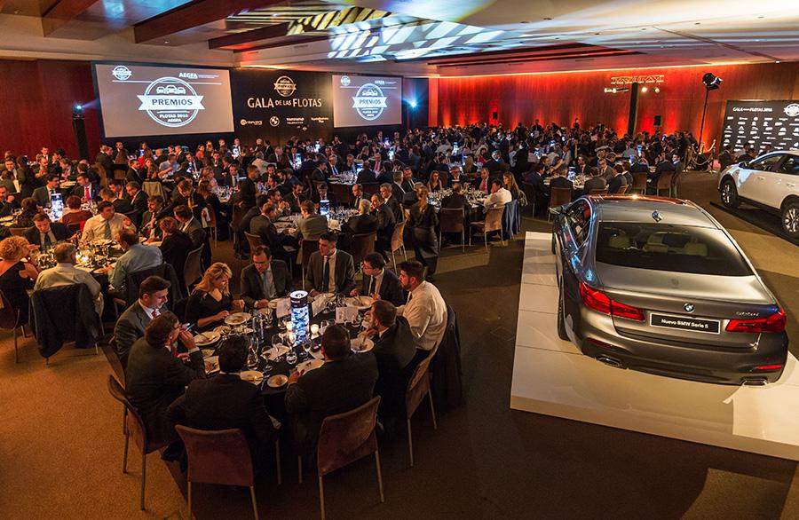 La Gala de las Flotas reúne a más de 350 profesionales para la entrega de los PREMIOS FLOTAS 2