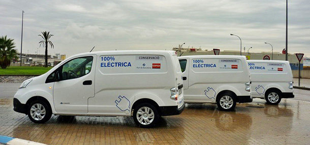 COPISA incorpora 4 Nissan e NV200