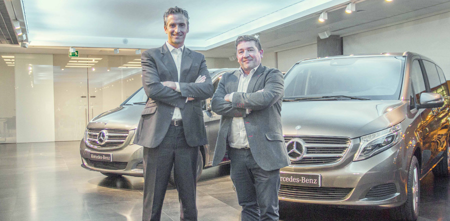 Quadis Rent a Car amplía su flota shuttle con 103 unidades Mercedes Benz