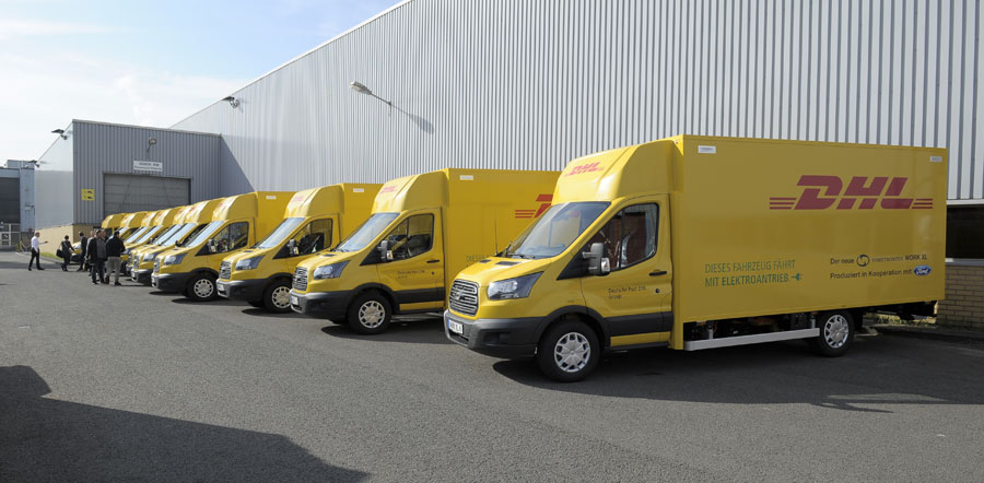 Ford inicia la producción de un VE para Deutsche Post