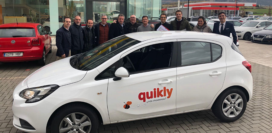 Quikly el primer car sharing exclusivo para concesionarios