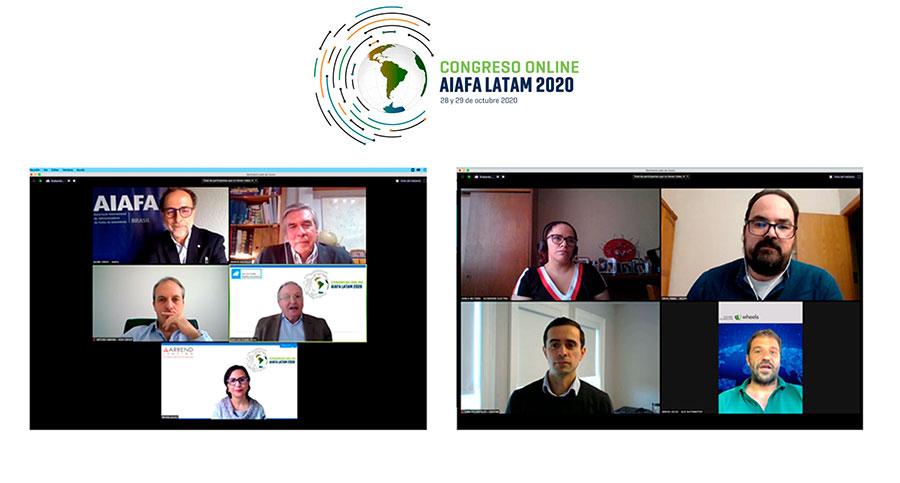 Finaliza con éxito el Congreso Online AIAFA LATAM 2